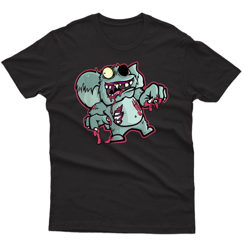 Zombie Koala Bear | Funny Halloween Gift For Zoo Lovers T-shirt